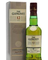 Glenlivet 12 Year Old Half Bottle