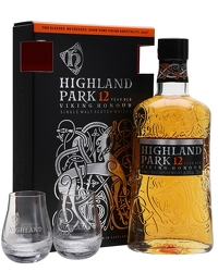 Highland Park 12 Year Old 2 Glass Pack