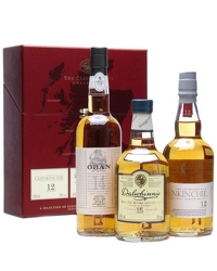 Classic Malts Gentle Collection 3x20cl