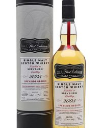 Speyburn 2005 12 Year Old First Editions