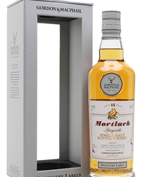Mortlach 15 Year Old Bot.2018 G&M Distillery Labels