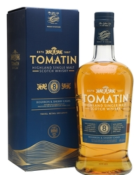Tomatin 8 Year Old Bourbon & Sherry Casks Litre