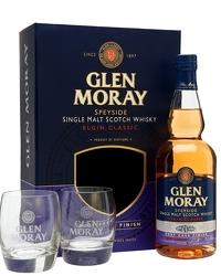 Glen Moray Port Cask Finish Glass Set