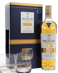 Macallan Gold 2 Glass Gift Set