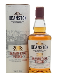 Deanston 2008 9 Year Old Brandy Cask Finish