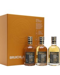 Bruichladdich Barley Exploration Gift Pack 3x20cl