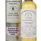 Auchentoshan 17 Year Old 2000 (cask 800157 & 800158) - Un-Chillfiltered Collection (Signatory)