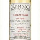 Benrinnes 9 Year Old 2009 - Strictly Limited (Càrn Mòr)