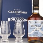 Edradour Caledonia 12 Year Old with 2x Glasses