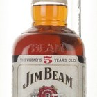 Jim Beam White 5 Year Old - 1970s
